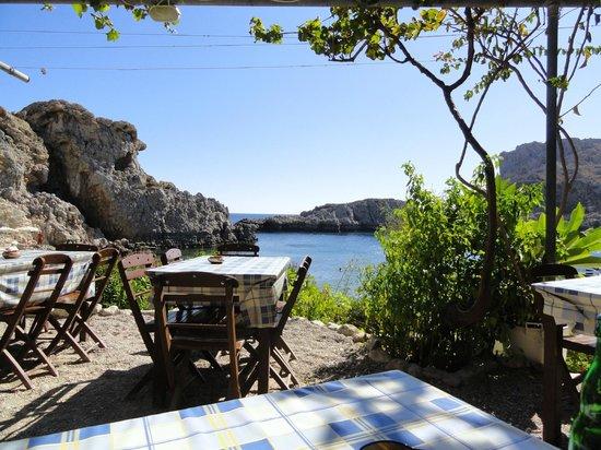 Agios Pavlos Beach (Saint Paul): So Greek so beautiful