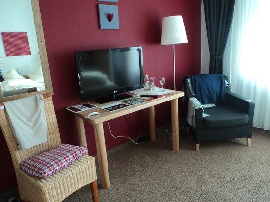 Hotel Bergruh: В номере (двухместный стандарт)