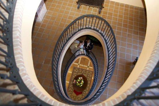 Hotel Guadalmina Spa & Golf Resort : Pasillos del hotel.