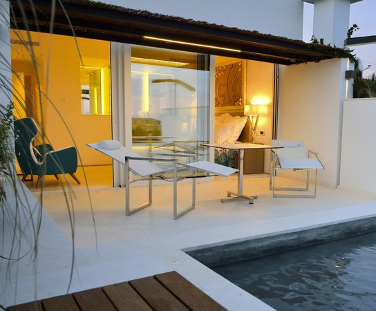 Hotel Calma Blanca : TERRASSE GALUSKA