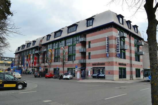 Seehotel Friedrichshafen: Вид на отель