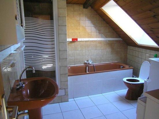 Gite La Mouree: salle de bain