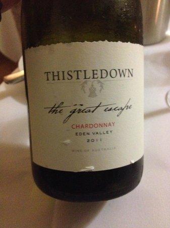Losehill House Hotel & Spa : Thistledown Wine