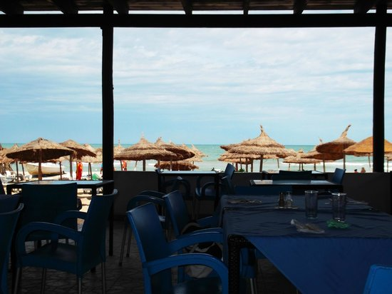 Djerba Holiday Beach : snack plage