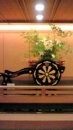 Ginpaso: ロビーの生け花