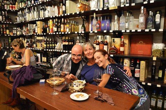 Picone Enoteca: Con gli amici di Palermo