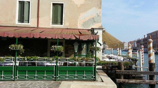 Hotel Continental Venice : Varanda do Hotel