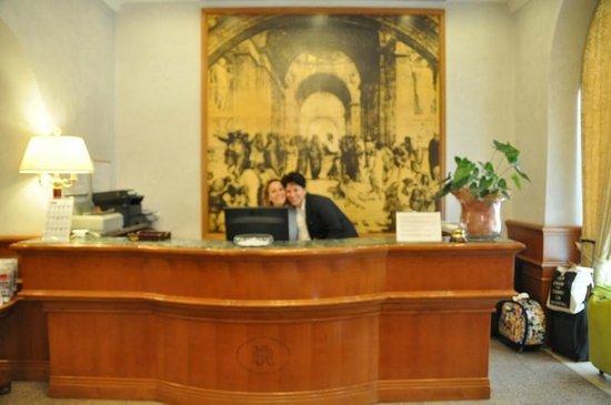 Hotel Raffaello : Courteous, welcoming, informative staff