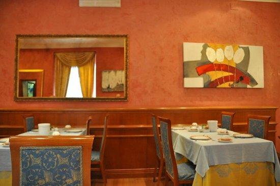 Hotel Raffaello : breakfast area