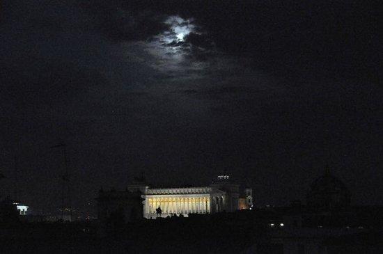 Hotel Raffaello: view from rooftop of sister hotel Albergo del Senato