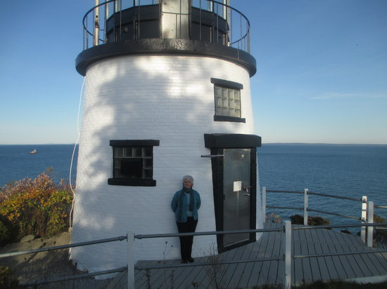 Owls Head Lighthouse: Loving the lighthouse