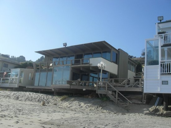 Casa Larronde - picture taken from the private beach side