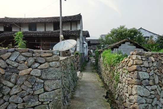 Wenzhou Yantou Village : Ancient street