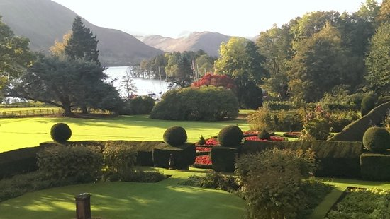 Another Place, The Lake: The bed faced the window and looked out onto this view - wonderful or what?