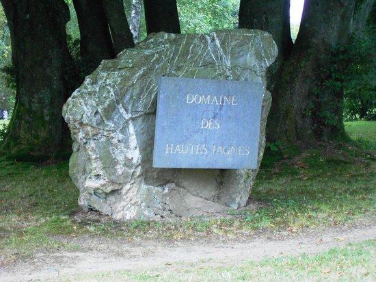 Domaine des Hautes Fagnes : A l'arrivée