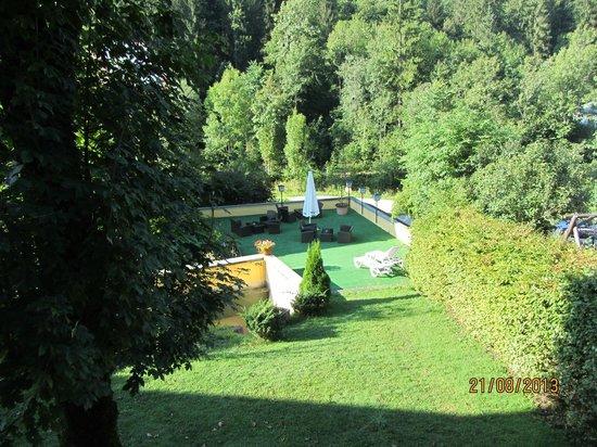 Urlaub und Wellness im Hotel Hochkalter: Liegewiese