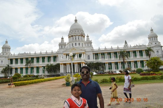 Lalitha Mahal Palace Hotel: the king and prince