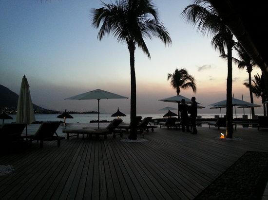 Sands Suites Resort & Spa: vue du bar