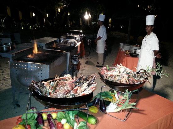 Sands Suites Resort & Spa: soirée langouste