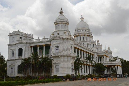 Lalitha Mahal Palace Hotel: great exterior look