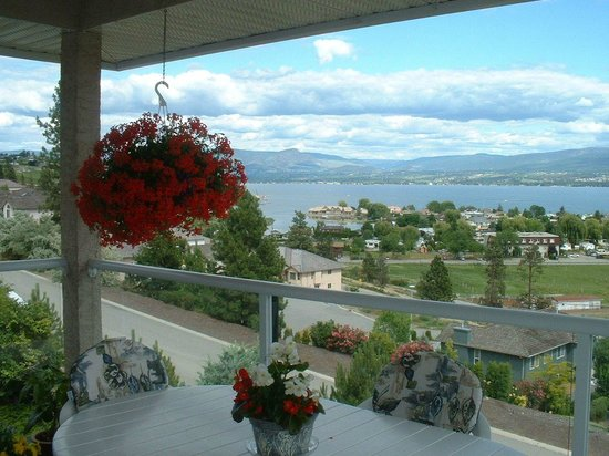 Apple Blossom Bed & Breakfast: The view from the breakfast area