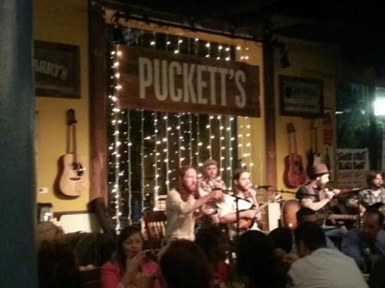 Puckett S Grocery And Restaurant Live Band