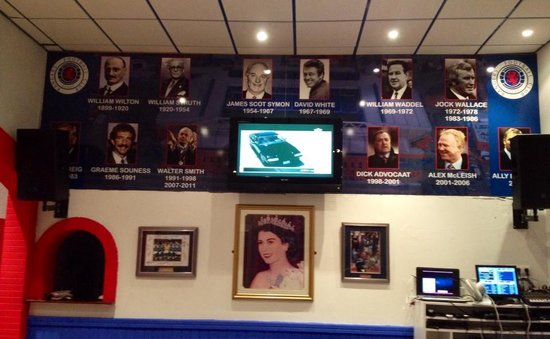 Ibrox Bar: Hall of Fame