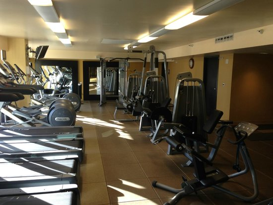 DoubleTree by Hilton San Jose: Fitness Center - resistance training machines