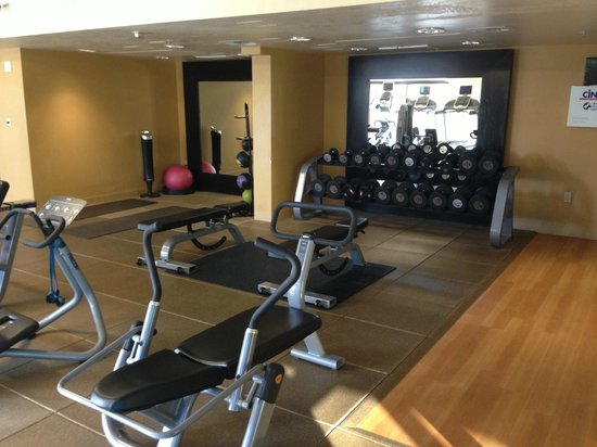 DoubleTree by Hilton San Jose: Fitness Center - free weight area