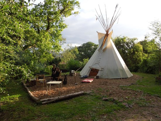 Wolf Paw Tipi Village: Home