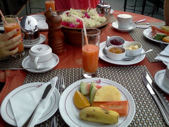 Kandyan Arts Residency: colazione