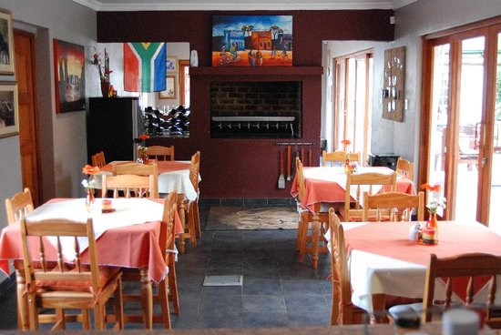 Journey's Inn Africa : Dining room