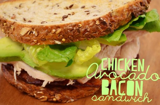 Hungry Sam's Bakery & Deli: Chicken Avocado Bacon Sandwich