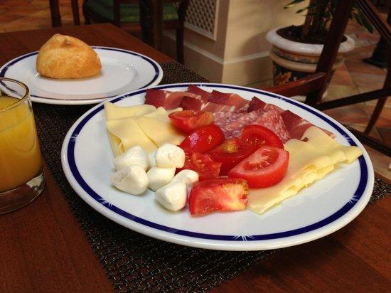 Meliá Milano: Отличный завтрак