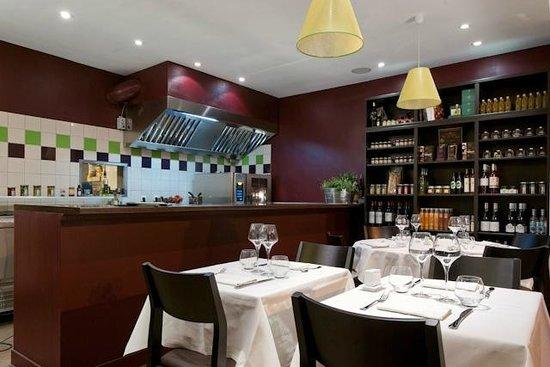 Aubergine & Cie : Cuisine ouverte