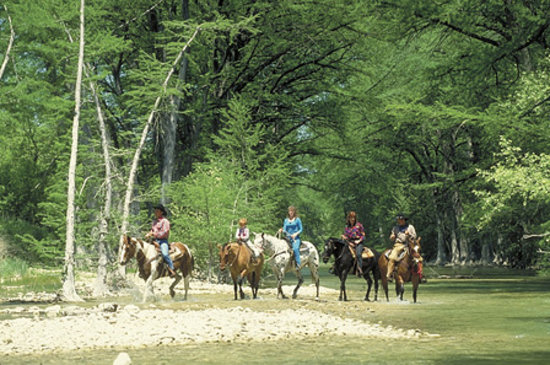 Mayan Dude Ranch: Horseback riding