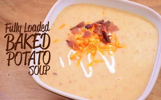 Hungry Sam's Bakery & Deli: Fully Loaded Baked Potato Soup