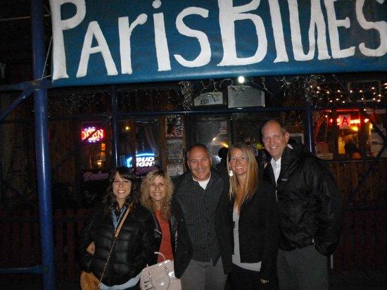 Big Apple Jazz Tour: Grupo en Paris Blues con Gordon