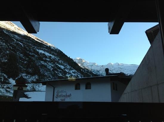 Hotel Klausnerhof: vista desde la terraza