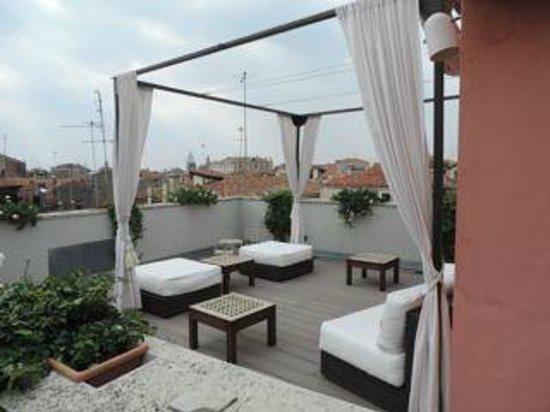 B&B Bloom Venice: rooftop terrace