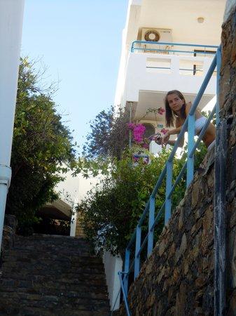 Kalithea Apartments : disposto su vari livelli