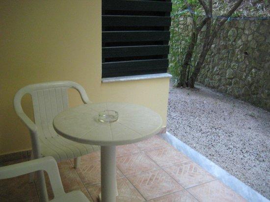 Liapades Beach Hotel: Вид из номера