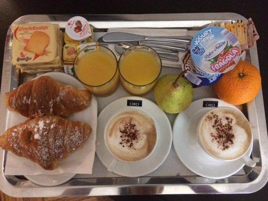 Target Inn: Delicious breakfast!