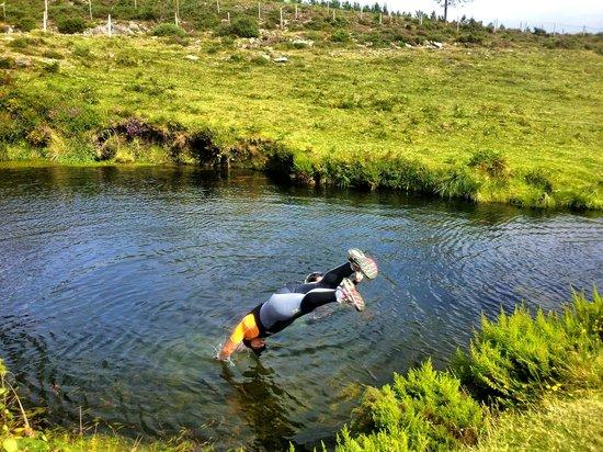 Foto de piscinas naturales del rio pedras a pobra do for Piscinas naturales rio malo