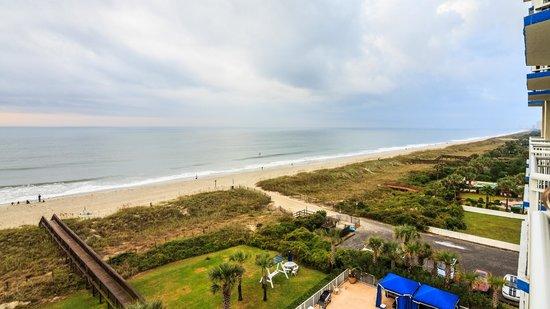 Dunes Village Resort: Ocean Front (left)