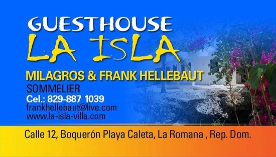 Guesthouse Villa la Isla: villa la isla