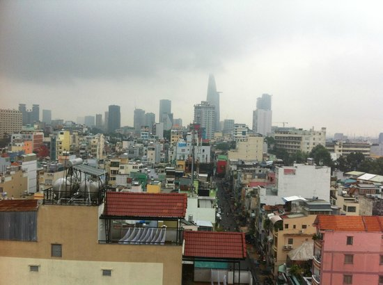 Saigon Mini Hotel 5: View from Bfast Roof Top