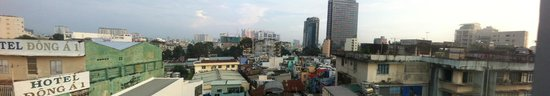 Saigon Mini Hotel 5: View from Room 701