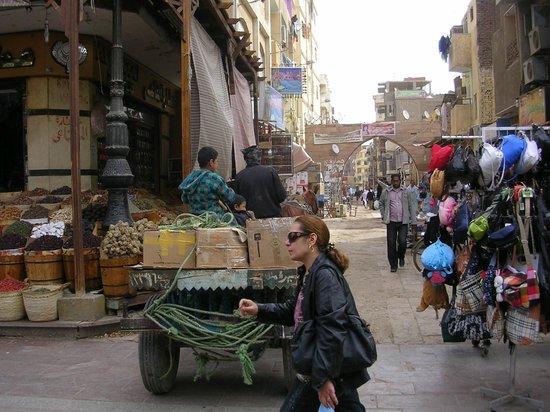 Aswan Market : Vervoer op de markt