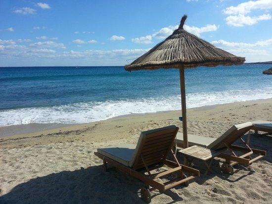 Ostraco Suites: Beach